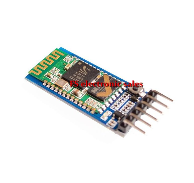 5 pcs HC05 HC-05 master-slave 6pin JY-MCU anti-reverse, integrated Bluetooth serial pass-through module, wireless serial