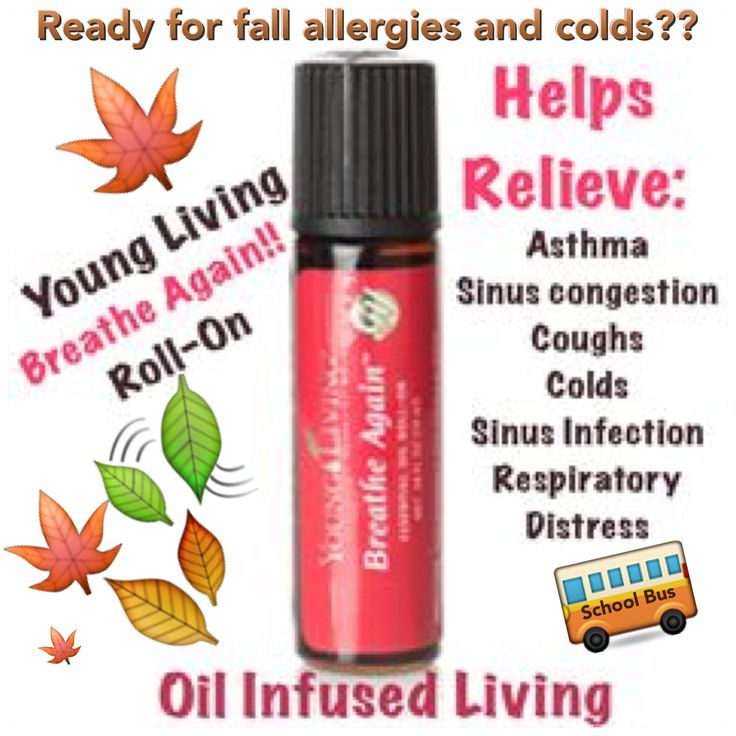 Breathe Again Roll On Is Great For Any Allergy Or