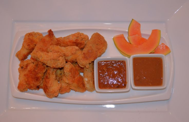 DIP IT. SNACK IT. SHARE IT. LOVE IT Chicken wings Anyone? With Mango hot n spicy and pepper sauces www.facebook.com/reggaeforyouinc