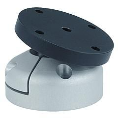 Table inclinable sur rotule inclinaison 30° // Pivot heads swivel angle 30° // REF 21170