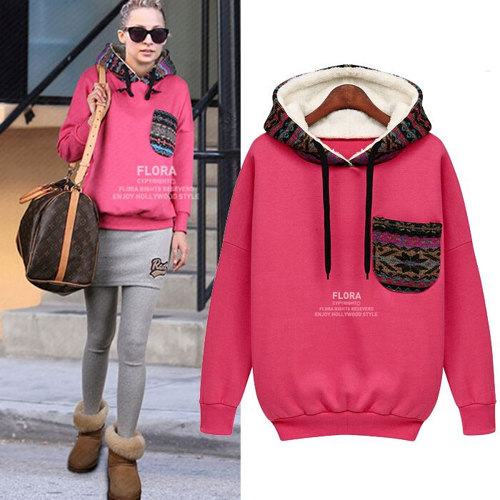 Find More Hoodies & Sweatshirts Information about 2014 Women Sport Coat Hoodie Faux Fur Lining Autumn And Winter Women's Hoodie Hoodies&sweatshirts Pullovers with Pocket,High Quality pullover men,China sweatshirt men Suppliers, Cheap pullover sweaters for kids from Tina Fashion Woman Clothing Store on Aliexpress.com
