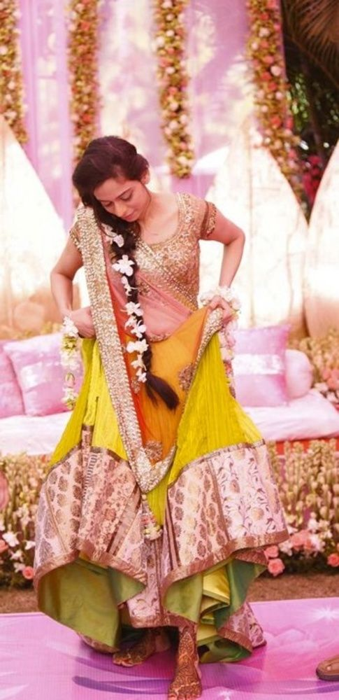 Here comes the Indian Bride...