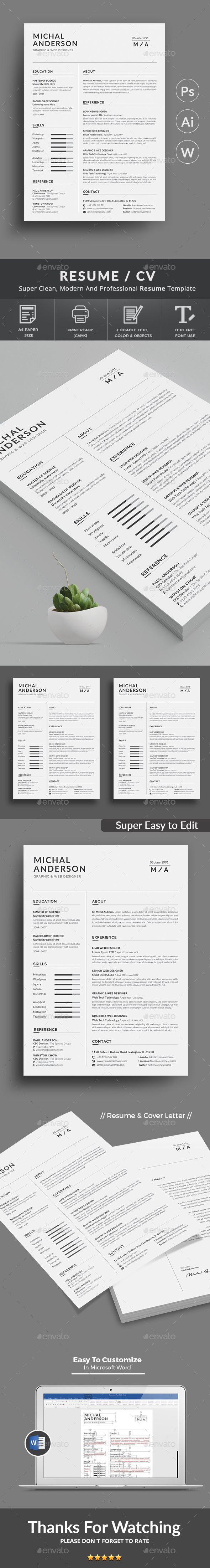 "This is #Resume Templates . ""Resume Templates"" is the super clean,The flexible page designs are easy to use and customize, modern and professional Resume templates to help you land that great job, you a need a great resume. The professionally-written resume examples below can help give you the inspiration you need to build an impressive resume of your own that impresses hiring managers and helps you land the job. Download here: https://graphicriver.net/item/resume/19890472?ref=classicdesignp"