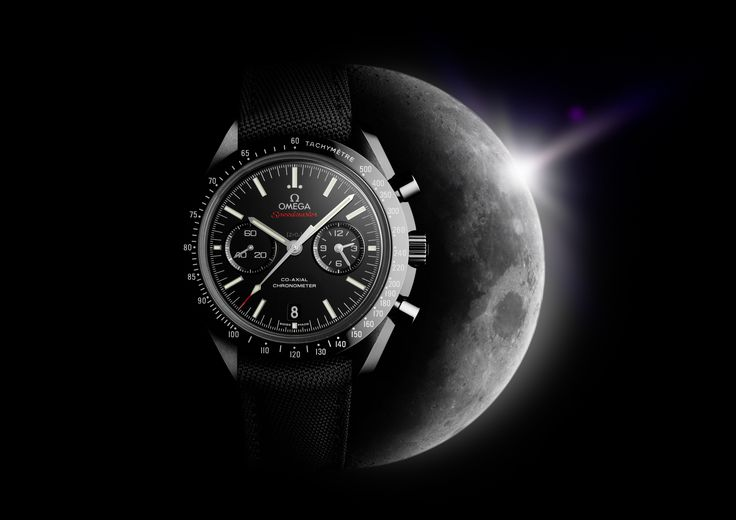 "The Apollo 8 astronauts were the first people to see the dark side of the moon with their own eyes. The​ black ceramic​ Speedmaster​ ""Dark Side of the Moon"" salutes their pioneering spirit and pays homage to the Speedmaster Professional chronographs worn by every Apollo astronaut.​ Discover the ​​Moonwatch ​​collection today at CH Premier Jewelers!​"