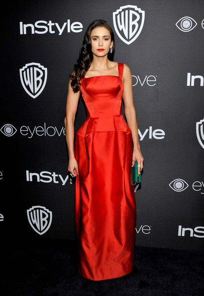 Nina Dobrev Photos Photos - Actress Nina Dobrev attends The 2017 InStyle and Warner Bros. 73rd Annual Golden Globe Awards Post-Party at The Beverly Hilton Hotel on January 8, 2017 in Beverly Hills, California. - The 2017 InStyle and Warner Bros. 73rd Annual Golden Globe Awards Post-Party - Red Carpet