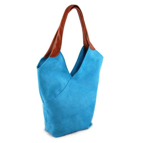 SIERRA BAG - błękit morza w INCAT  na DaWanda.com