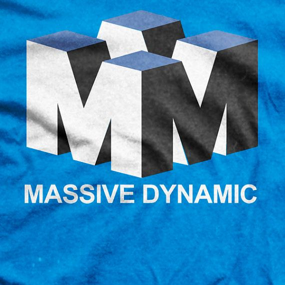 Fringe TV Series Massive Dynamic Logo T-shirt on Etsy, $22.04