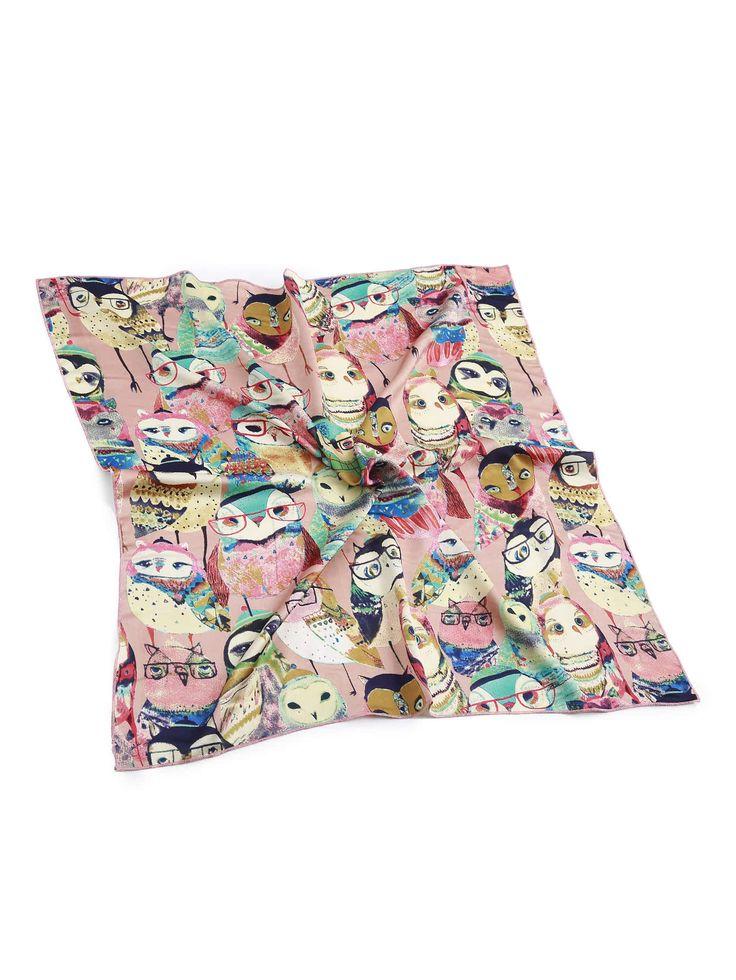 Shop Cartoon Owl Print Satin Bandana online. SheIn offers Cartoon Owl Print Satin Bandana & more to fit your fashionable needs.
