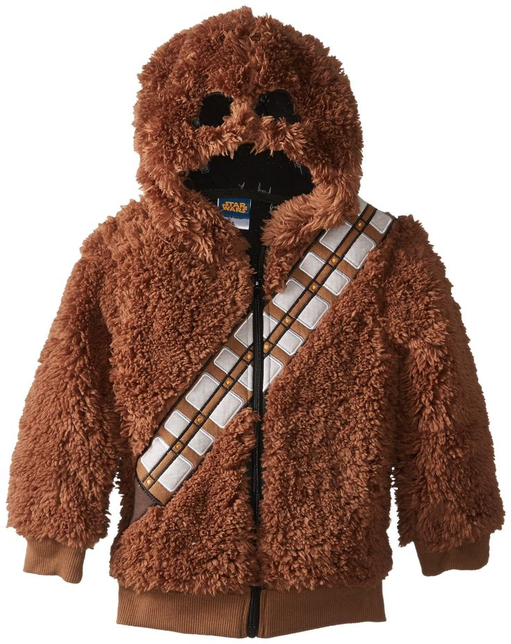 Amazon.com: JEM Little Boys' Chewbacca Fleece, Brown, 2-Tall: Clothing   Where was this when my boys were little???
