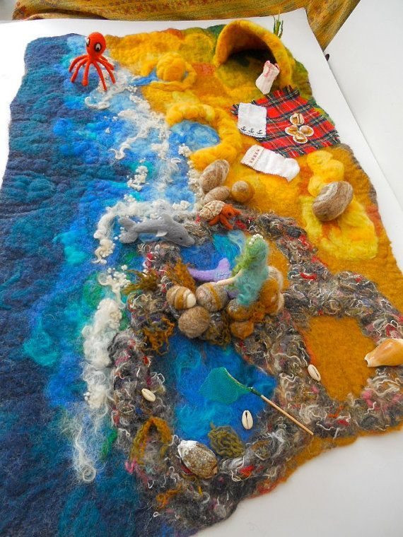 Beach play mat