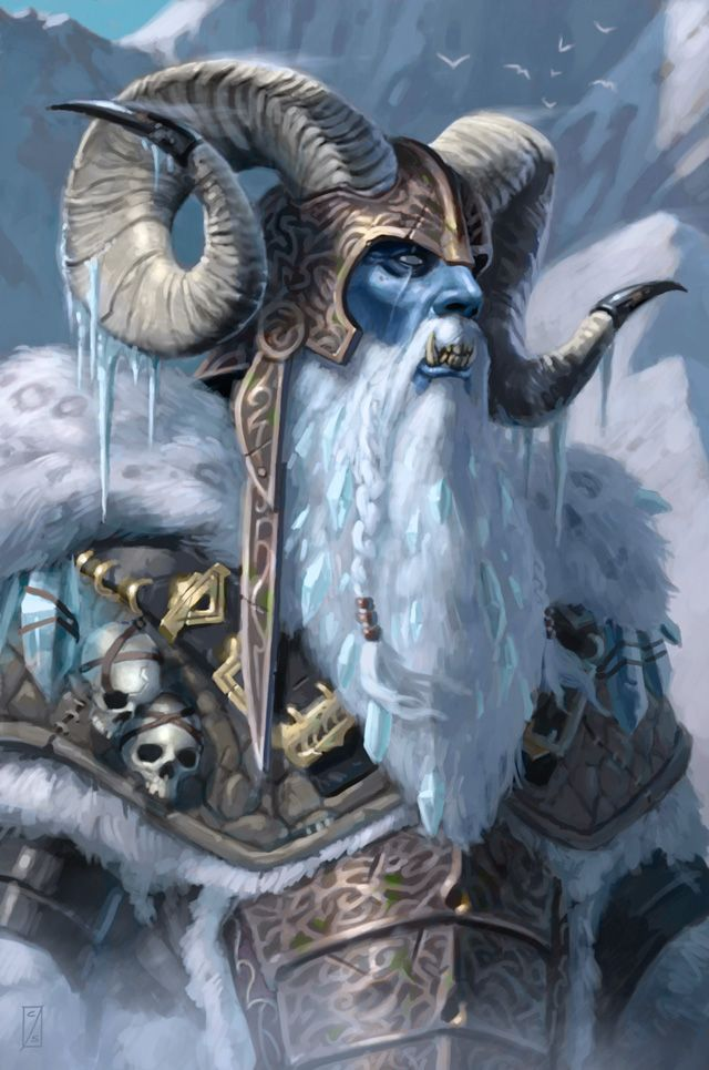 Frost Giant Jarl by Artist Unknown  Auction your comics on http://www.comicbazaar.co.uk