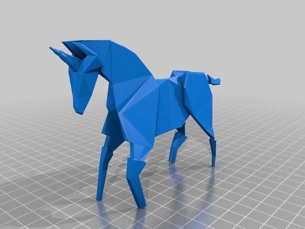 """Blade Runner Origami Unicorn Pin: """"Blade Runner"""" Origami Unicorn By C0lpanic"""