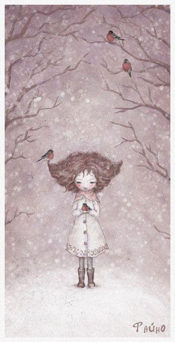 SNOW MAIDEN by`Fain (Salmina Sasha)♥ Зима