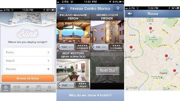 :: Blink Booking :: l'#app che trova camere di lusso a prezzi stracciati #Android #iPhone #mobile