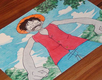 """Check out new work on my @Behance portfolio: """"Monkey D.Luffy Ballpoint Pen Drawing"""" http://be.net/gallery/32281643/Monkey-DLuffy-Ballpoint-Pen-Drawing"""