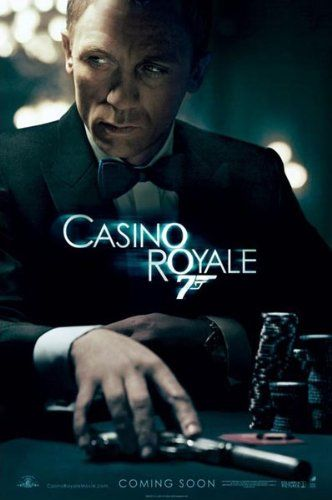 CASINO ROYALE POSTER - JAMES BOND - NEW 24X36 TEASER Poster Print 36x24 Poster Print 36x24 @ niftywarehouse.com #NiftyWarehouse #Bond #JamesBond #Movies #Books #Spy #SecretAgent #007