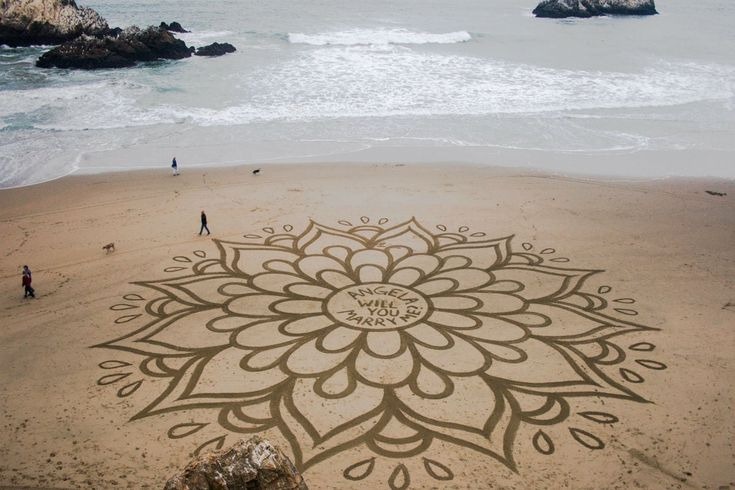 Remarkable Beach Art By Andres Amador