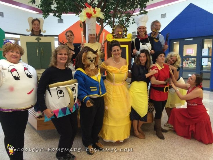 29 best beauty and the beast costume ideas images on pinterest beauty and the beast group costume homemade costumesdiy solutioingenieria Gallery