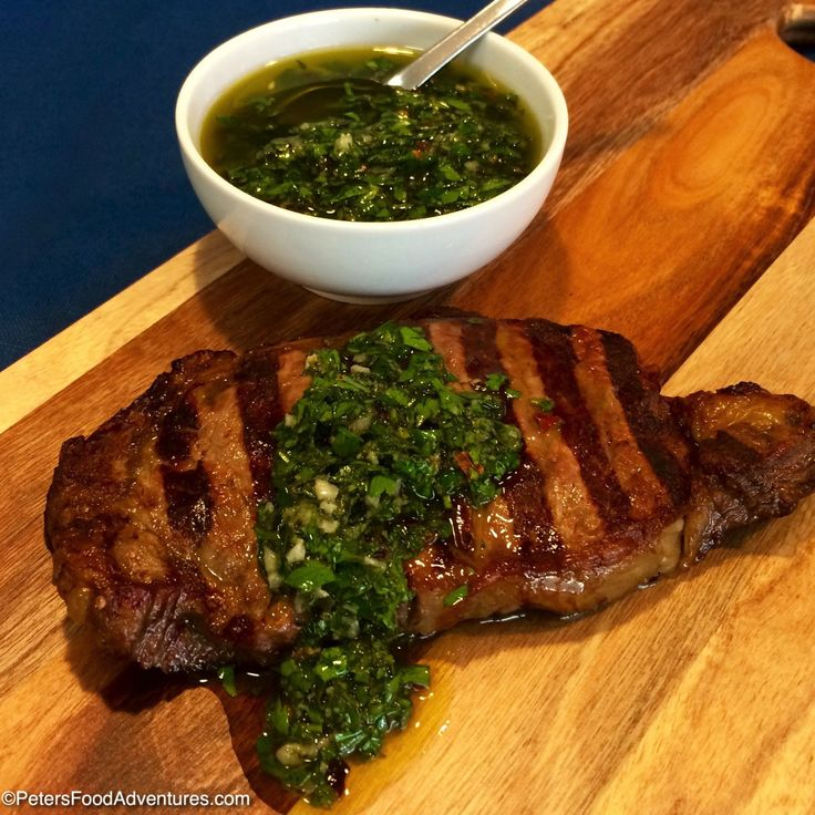 This traditional Argentinian Chimichurri Recipe uses simple ingredients, making the perfect addition to your grilled meats.
