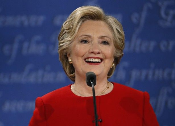 The Democrat's command and poise left her rival looking frustrated, peevish, and out of sorts.