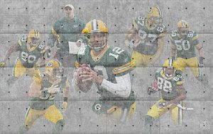 Green Bay Packers Photograph - Green Bay Packers Team by Joe Hamilton
