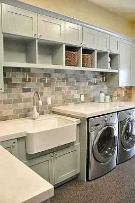 great looking laundry room