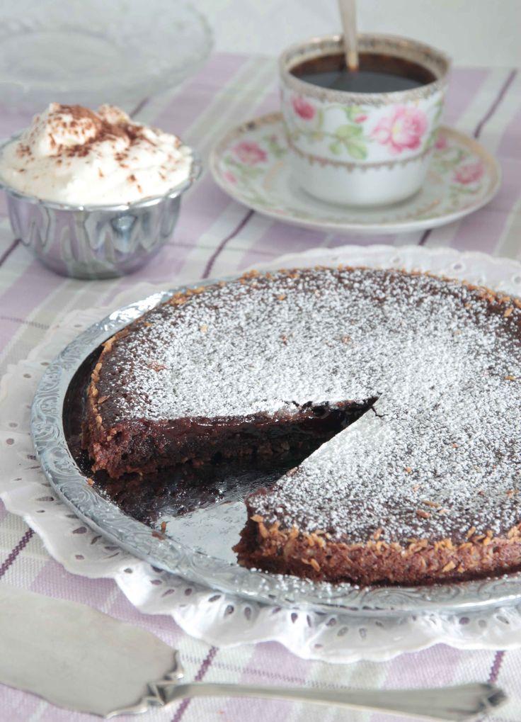 Nougat Chocolate lava cake