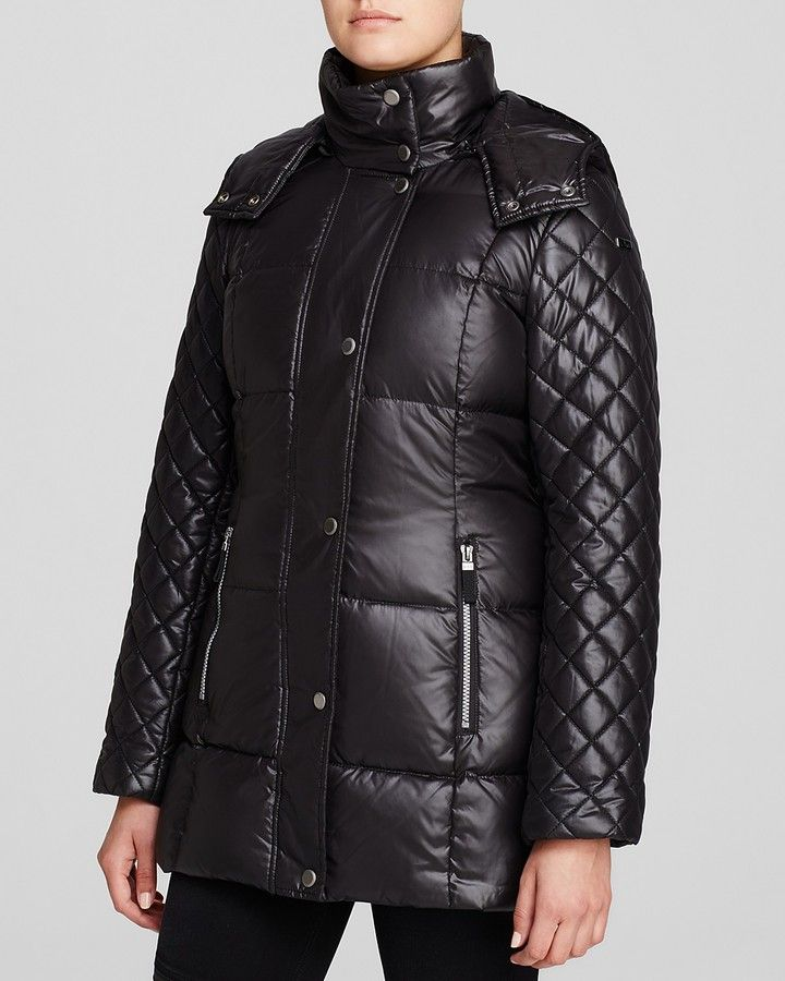 Marc New York Alise Lacquer Puffer Coat
