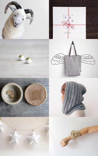 A treasury of frosty finds for the holidays. #etsygifts #etsyfinds