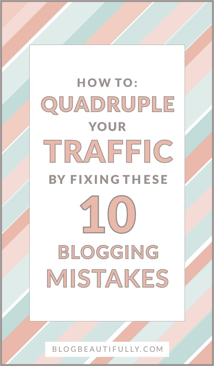 Are you making any of these 10 traffic-stopping blog mistakes? Let's fix 'em! Click through to learn how...