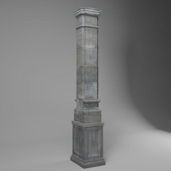 Textured Stone Pillar : Images about dcg bg on pinterest models texture