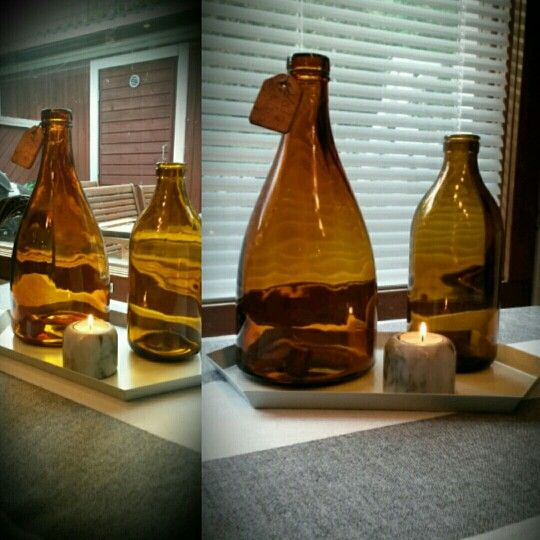 Old bottles from our summer cottage.