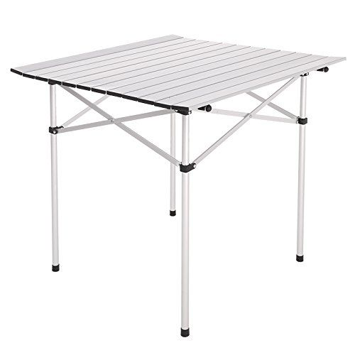 Camping Furniture - Gracelove Portable Aluminum Roll Up Table Folding Camping Outdoor Picnic Table Garden Yard -- Find out more about the great product at the image link.