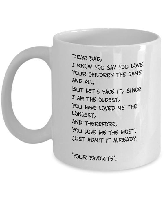 I Am Your Father Funny Joke Coffee Mug