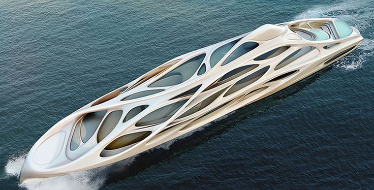 Unique circle yachts by Zaha Hadid Architects : The Collection | www.thecollectiononline.co.uk #boat #luxury #design #sea #yacht