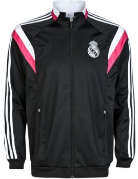 REAL MADRID CF 2014-2015 Season BLACK ANTHEM JACKET [1409070242]