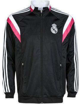 REAL MADRID CF 2014-2015 Season BLACK ANTHEM JACKET [1409070242]
