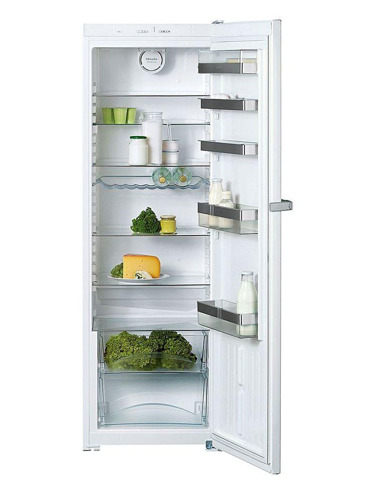 Miele K13820SD är ett tystgående kylskåp med flexibel inredning.