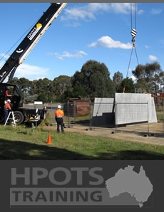 http://www.hpots.com.au/courses/crane-operator.html   HPOTS Training ( http://www.hpots.com.au ) provide training-services for heavy equipment operators in the construction, mining and transport industry sectors.
