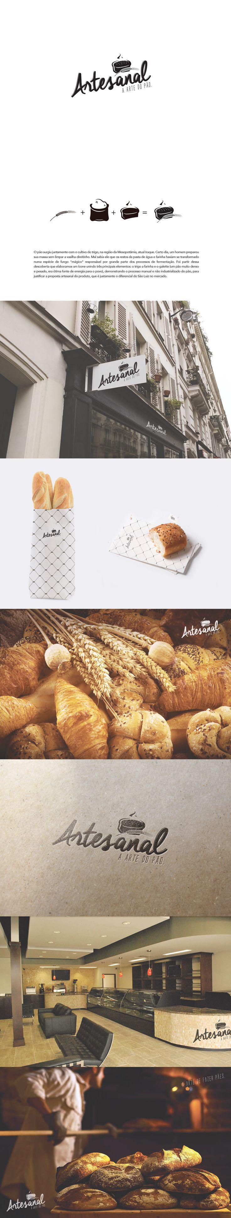 Branding Bakery Artesanal on Behance                                                                                                                                                                                 More