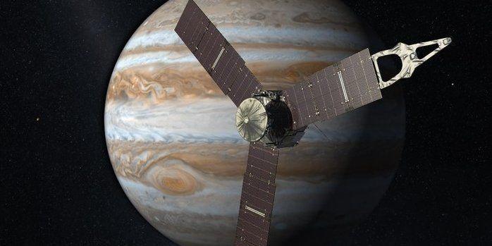 Космический аппарат НАСА Юнона завершает сближение с Юпитером