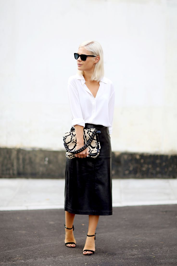 Wear a white shirt as a supporting piece to on trend silhouettes. www.stylestaples.com.au