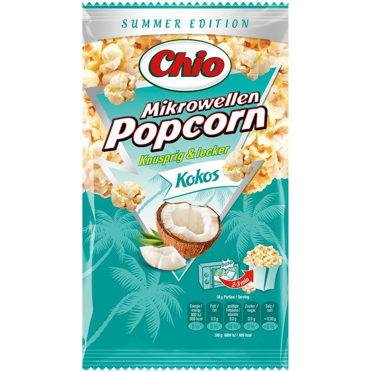 Chio Mikrowellen Popcorn Kokos