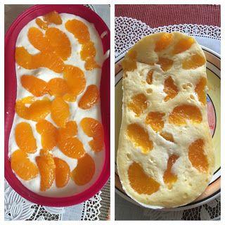 Ela kocht lecker : Käse-Mandarinen-Kuchen aus dem Omelett-Meister (Low Carb Kuchen Mikrowelle)