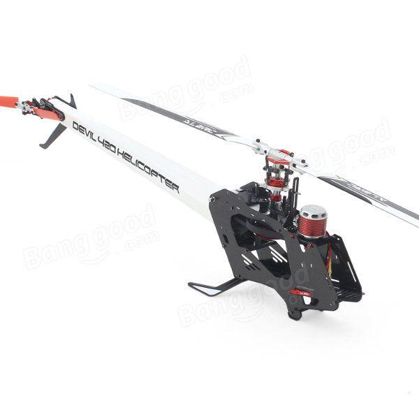 ALZRC Devil 420 FAST FBL RC Helicopter Super Combo Sale - Banggood.com