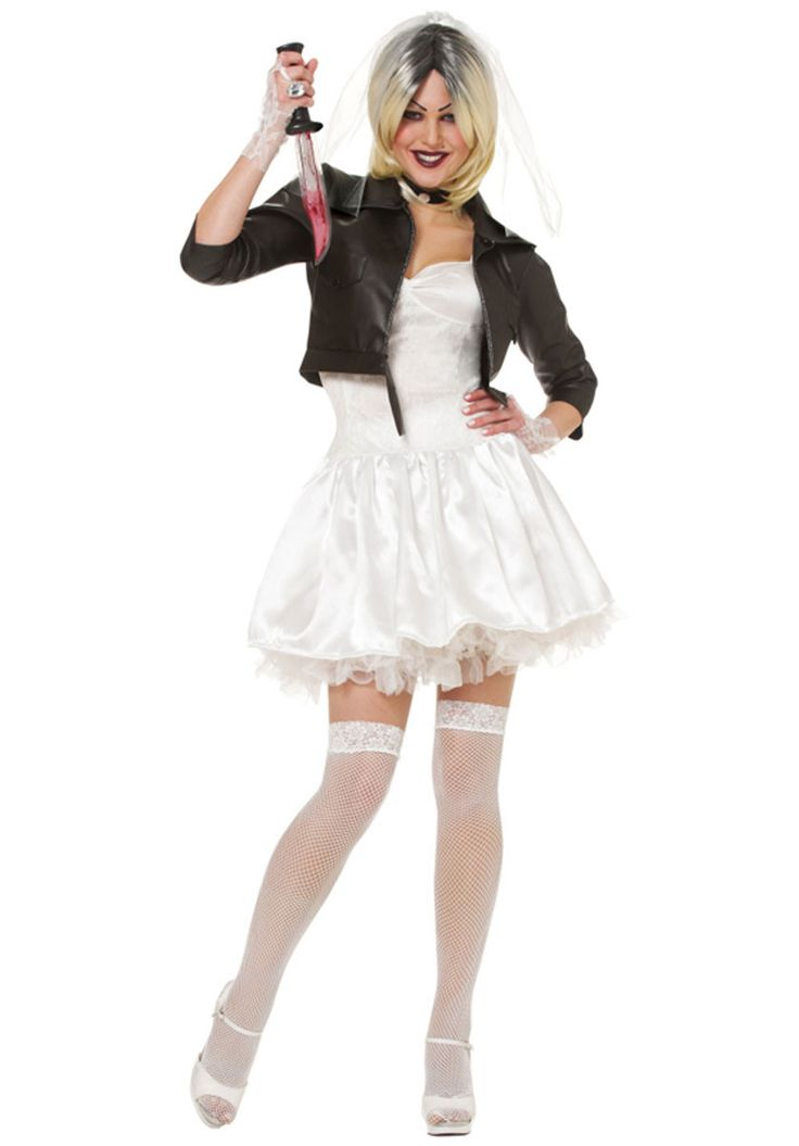 Sexy Bride of Chucky Costume, Ladies Fancy Dress - Halloween Costumes at Escapade