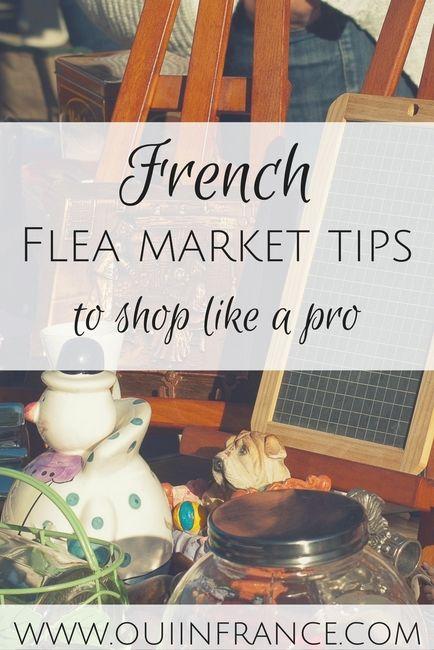 French flea market tips to shop like a pro