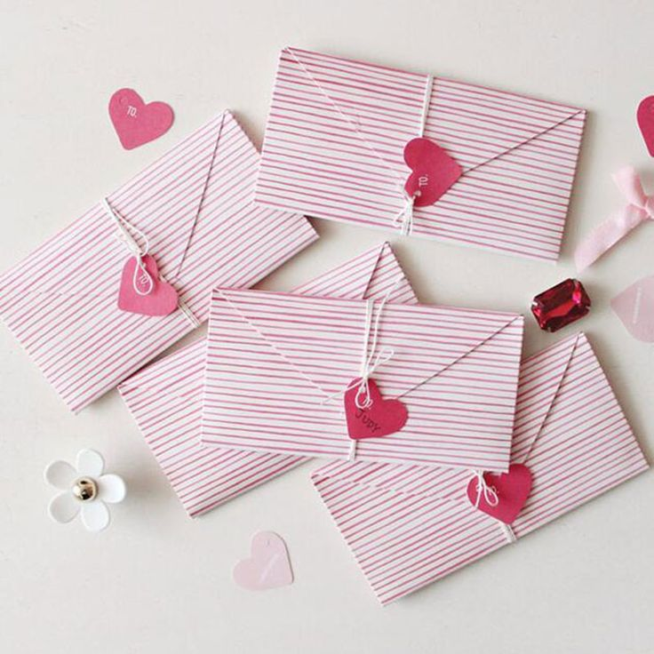 2pcs heart shape envelope Invitation Greeting message card Christmas birthday wedding New Year party Gift card holiday Universal