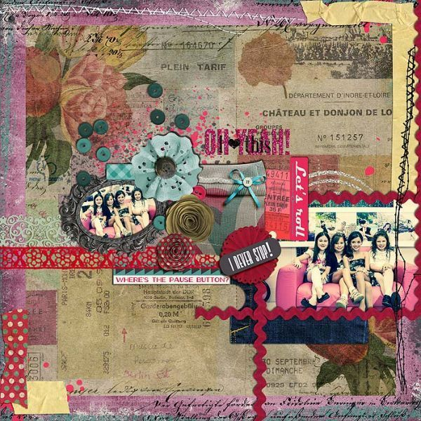 #supergirls  *ALL* by Little Butterfly Wings | Scrapbook designs {@Valéria Piemonte} @The Lilypad