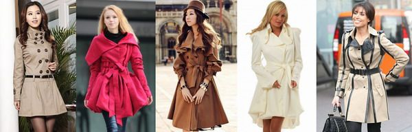 TRENCHCOAT TIPS: The trenchcoat can be interesting! If your style is creative, wear creative cutlines or bold colors!